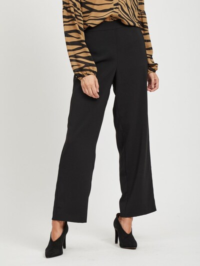 VILA Hose in schwarz, Modelansicht