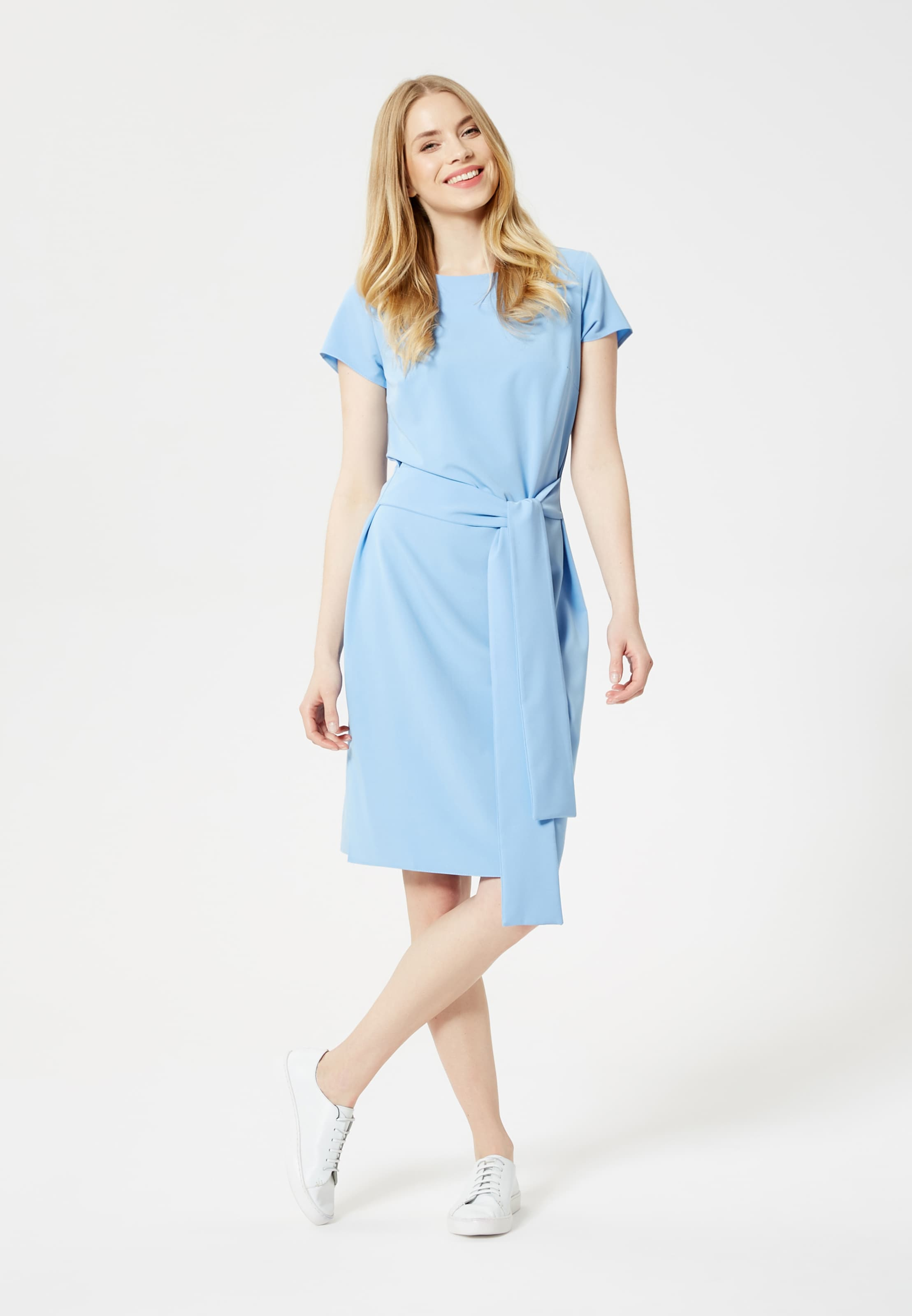 Fourreau En Bleu Clair Robe Usha 3K1JTculF