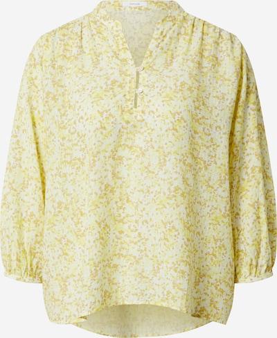 OPUS Bluse 'Flanja' in zitrone / weiß, Produktansicht