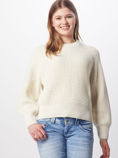 Pepe Jeans Pullover 'Vania' in beige, Modelansicht