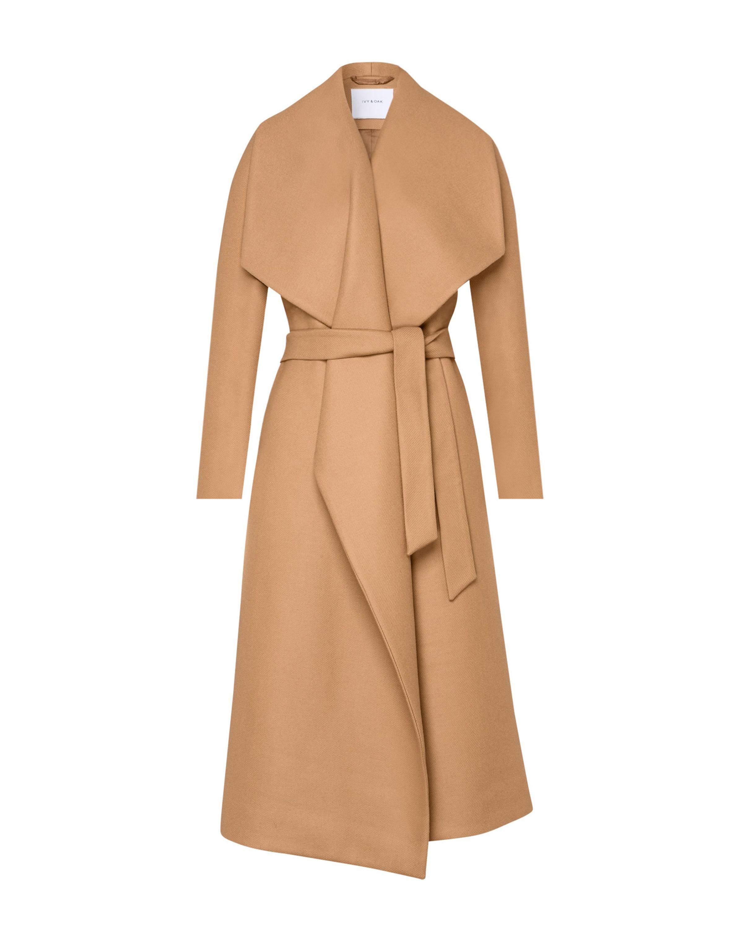 Oak 'bathrobe Hellbeige Ivyamp; In Coat' Mantel rdCQEoBexW