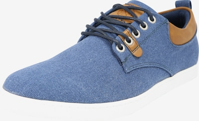 BULLBOXER Sneaker in navy / cognac, Produktansicht