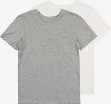 Calvin Klein Underwear Schlafshirt '2PK SS TEE' in Grau