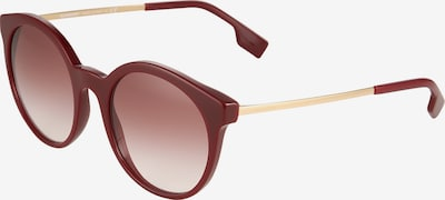 BURBERRY Sonnenbrille in rot: Frontalansicht