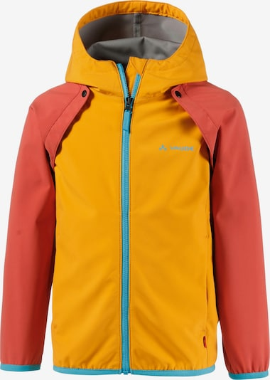 VAUDE Outdoorjacke in türkis / gelb / orange, Produktansicht