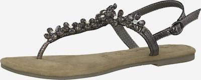 TAMARIS Sandale in mischfarben: Frontalansicht