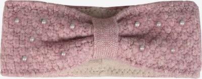 Zwillingsherz Opaska na czoło w kolorze różowy pudrowym, Podgląd produktu