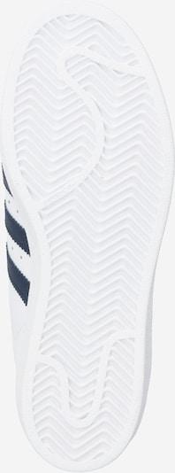 ADIDAS ORIGINALS Sneaker 'Superstar' in weiß: Ansicht von unten