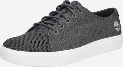 TIMBERLAND Sneakers laag 'Amherst Flexi Knit Ox' in de kleur Grijs / Wit, Productweergave