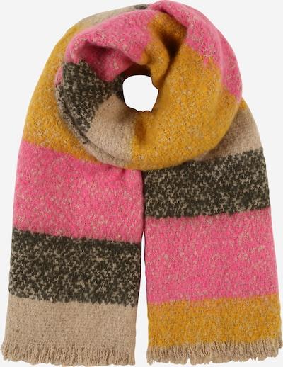 ONLY Schal 'NADINE' in gelb / grün / pink, Produktansicht
