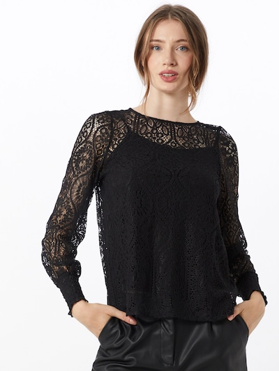 ONLY Bluse 'MINA' in schwarz, Modelansicht
