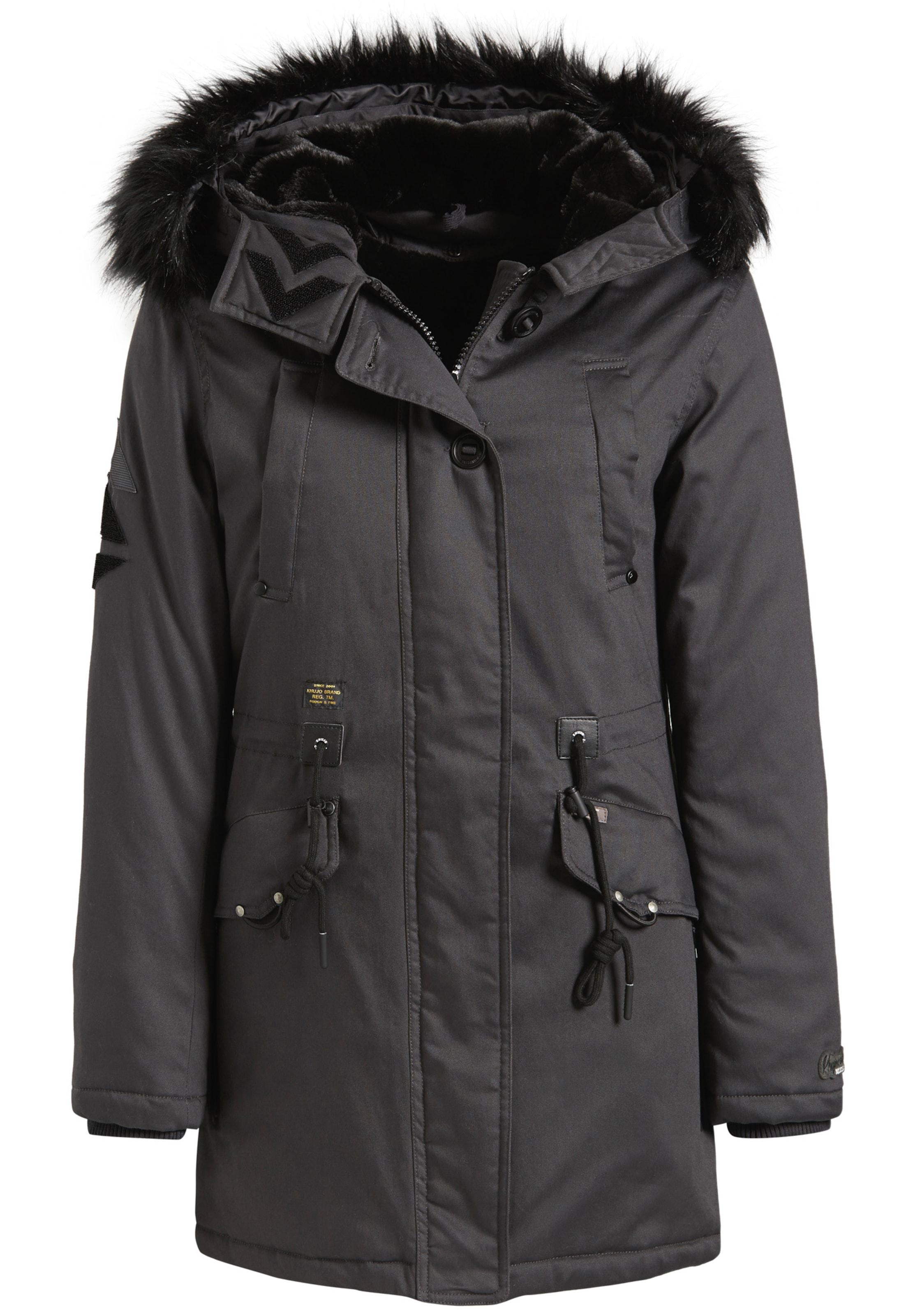 KhujoParka Noir D'hiver D'hiver In KhujoParka 'crystel' kX0wOP8n