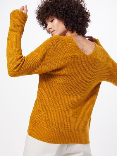 Megztinis 'MADIA' iš b.young , spalva - tamsiai oranžinė: Vaizdas iš galinės pusės