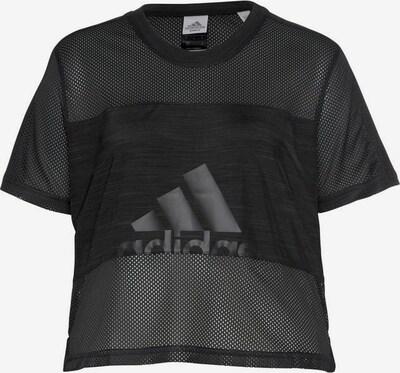 ADIDAS PERFORMANCE Sport-Shirt 'BOS MESH' in schwarz, Produktansicht