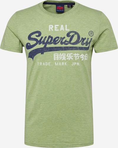 Superdry Tričko - modré / svetlozelená / biela, Produkt
