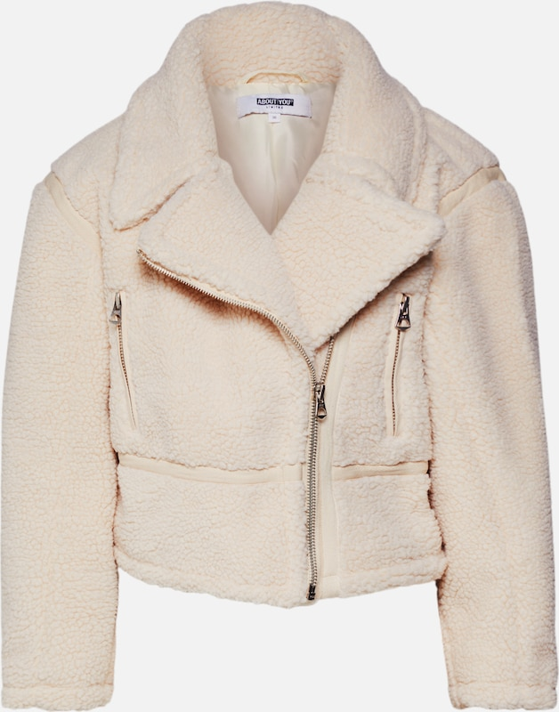 ABOUT YOU Limited Jacke 'Nela' by Michi Brandl in beige, Produktansicht