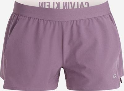 Sportinės kelnės iš Calvin Klein Performance , spalva - purpurinė, Prekių apžvalga