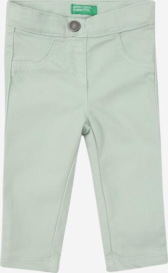 UNITED COLORS OF BENETTON Hose in pastellgrün, Produktansicht