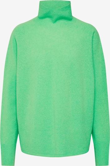 DRYKORN Pulover 'LYZA 420041' | zelena / neonsko zelena barva, Prikaz izdelka