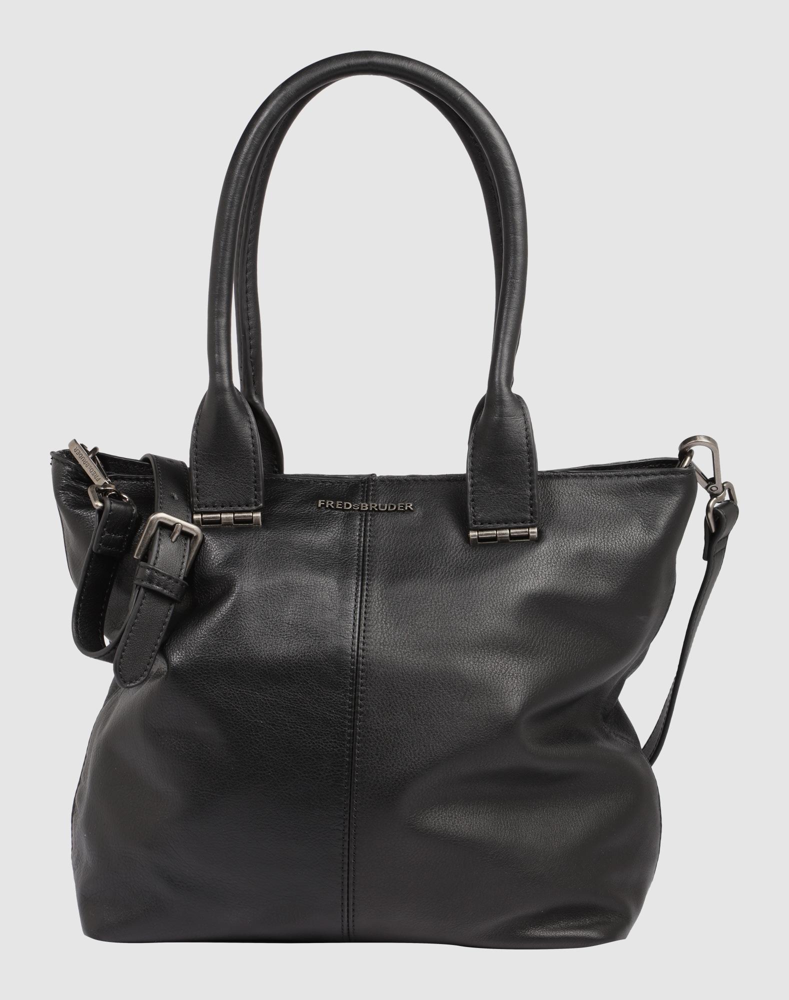 fredsbruder handtasche 39 flaps 39 in schwarz about you. Black Bedroom Furniture Sets. Home Design Ideas