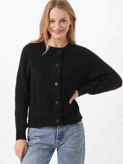 SELECTED FEMME Strickjacke 'Lulu' in schwarz, Modelansicht