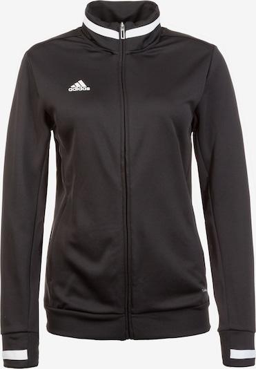 ADIDAS PERFORMANCE Trainingsjacke 'Team 19' in schwarz / weiß, Produktansicht