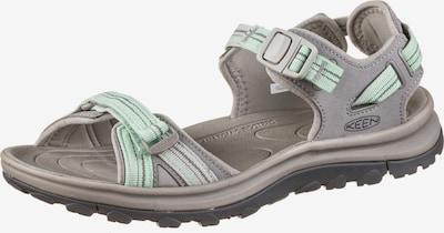 KEEN Outdoorsandalen 'Terradora II' in grau / mint, Produktansicht