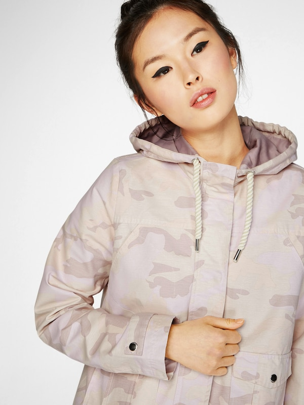 Review Jacke im Camouflage Look