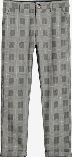 NEXT Stoffhose in grau / weiß, Produktansicht