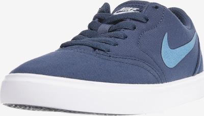 Nike SB Sneaker 'Check Canvas' in blau: Frontalansicht