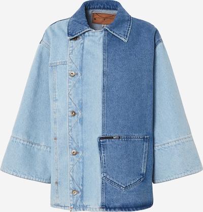 McQ Alexander McQueen Ceļotāju jaka 'Maru' pieejami zils džinss, Preces skats