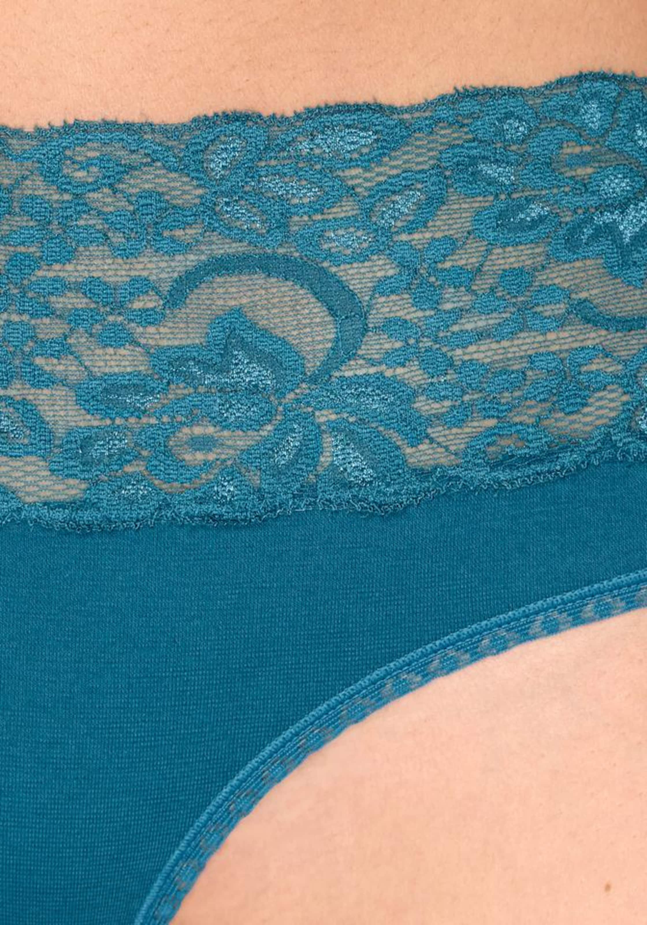 VIVANCE Active Slips (3 Stück) in camel / himmelblau / merlot
