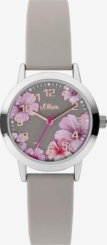 s.Oliver Uhr in Grau