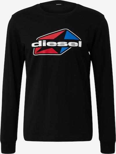DIESEL Shirt 'T-DIEGOS-LS-K41' in de kleur Zwart, Productweergave