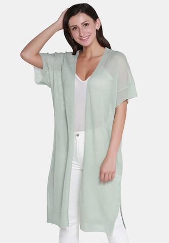 Usha Knit Cardigan in Green