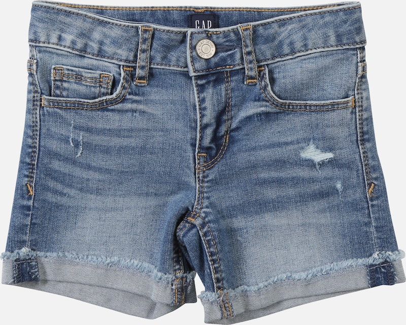 GAP Jeans 'MED DNM MIDI' in blue denim, Produktansicht