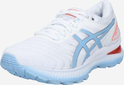 ASICS Chaussure de sport 'GEL-NIMBUS 22' en bleu clair / blanc, Vue avec produit