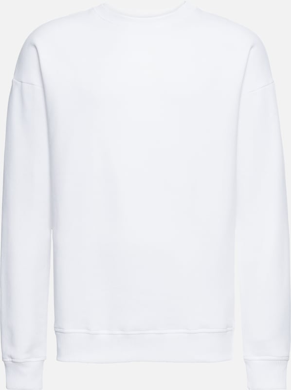 Classics Crewneck' En Urban Sweat shirt Blanc 'basic Jc5lTFK31u