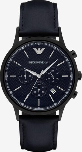 Emporio Armani Uhr in dunkelblau, Produktansicht