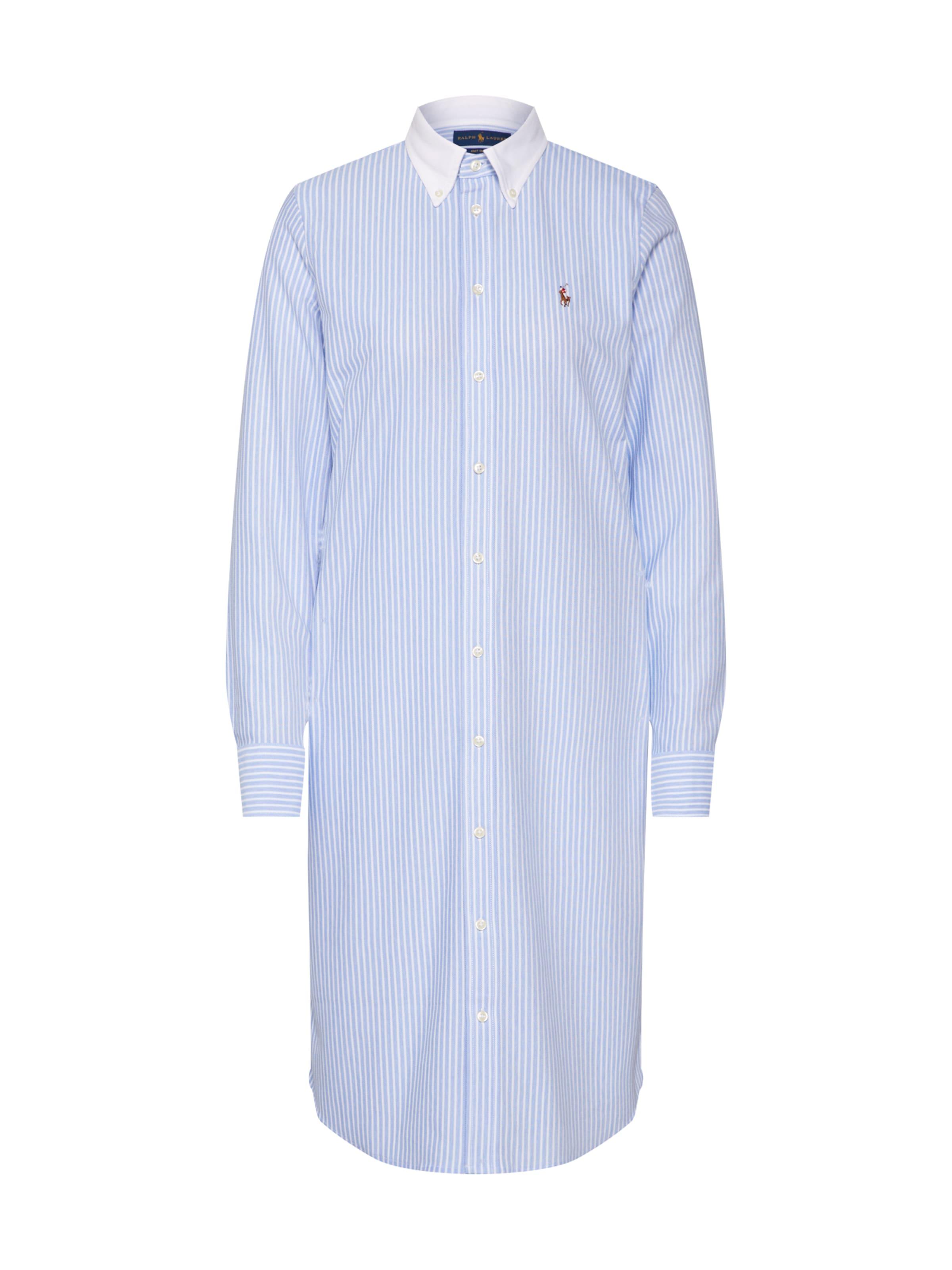 Lauren Ralph Robe En Polo chemise BleuBlanc VzMpSUq