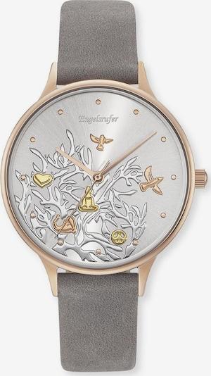 Engelsrufer Uhr 'Lebensbaum Trico' in goldgelb / rosegold / grau / silber, Produktansicht