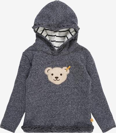 Steiff Collection Sweatshirt in rauchblau / braun, Produktansicht