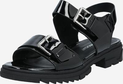 VERO MODA Páskové sandály - černá, Produkt