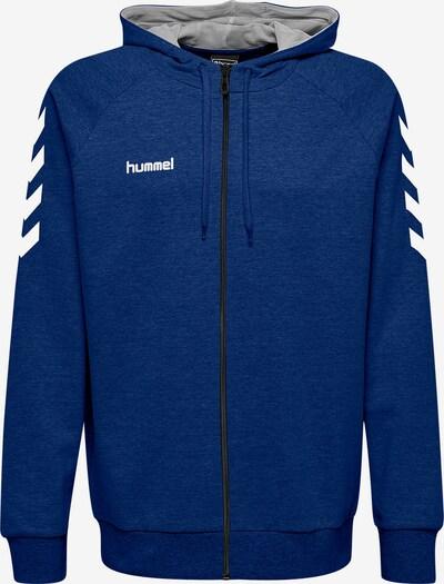 Hummel Pullover in blau / weiß, Produktansicht