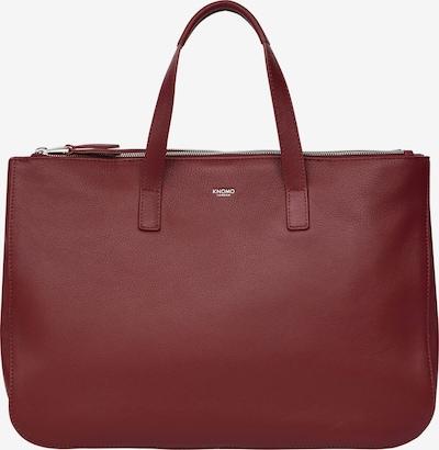 KNOMO Handtasche 'Mayfair Luxe' in burgunder, Produktansicht
