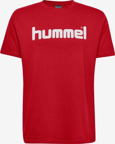 Hummel T-Shirt in rot / weiß, Produktansicht