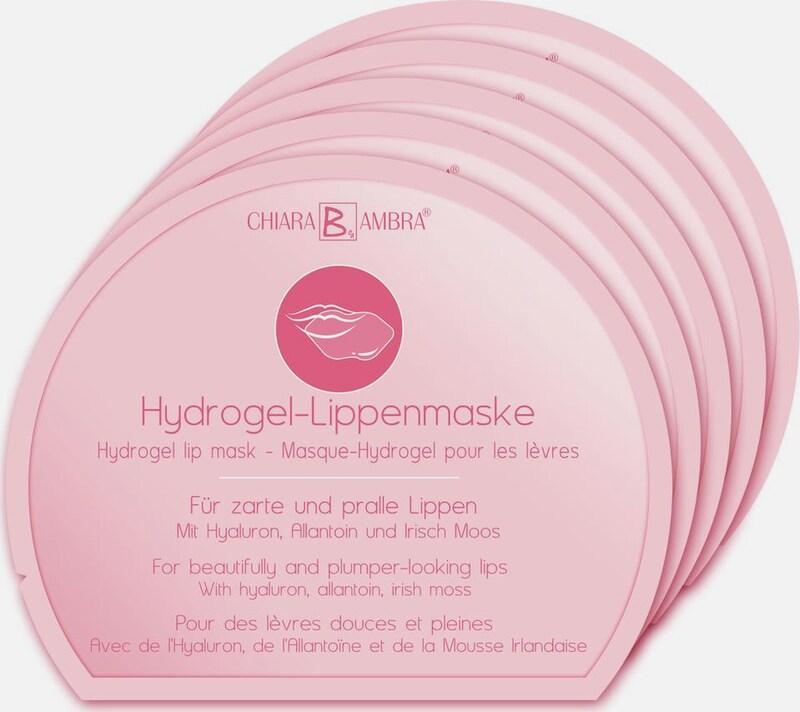 CHIARA AMBRA 'Hydrogel-Lippenmaske' Lippenpflege-Set