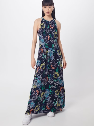 Esprit Collection Kleid 'Fluent P-Geroge Dresses light woven' in navy / mischfarben, Modelansicht