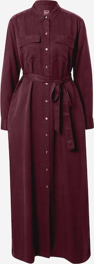 GAP Blousejurk 'LS Drapey' in de kleur Donkerrood, Productweergave