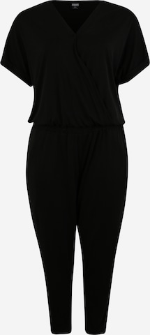 Urban Classics Curvy Jumpsuit 'Ladies Modal Jumpsuit' i svart